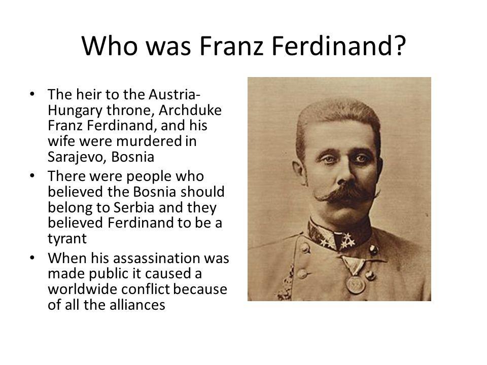 Who was Franz Ferdinand