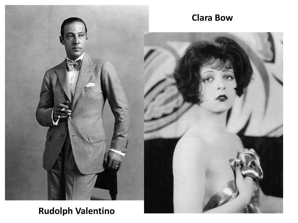 Clara Bow Rudolph Valentino