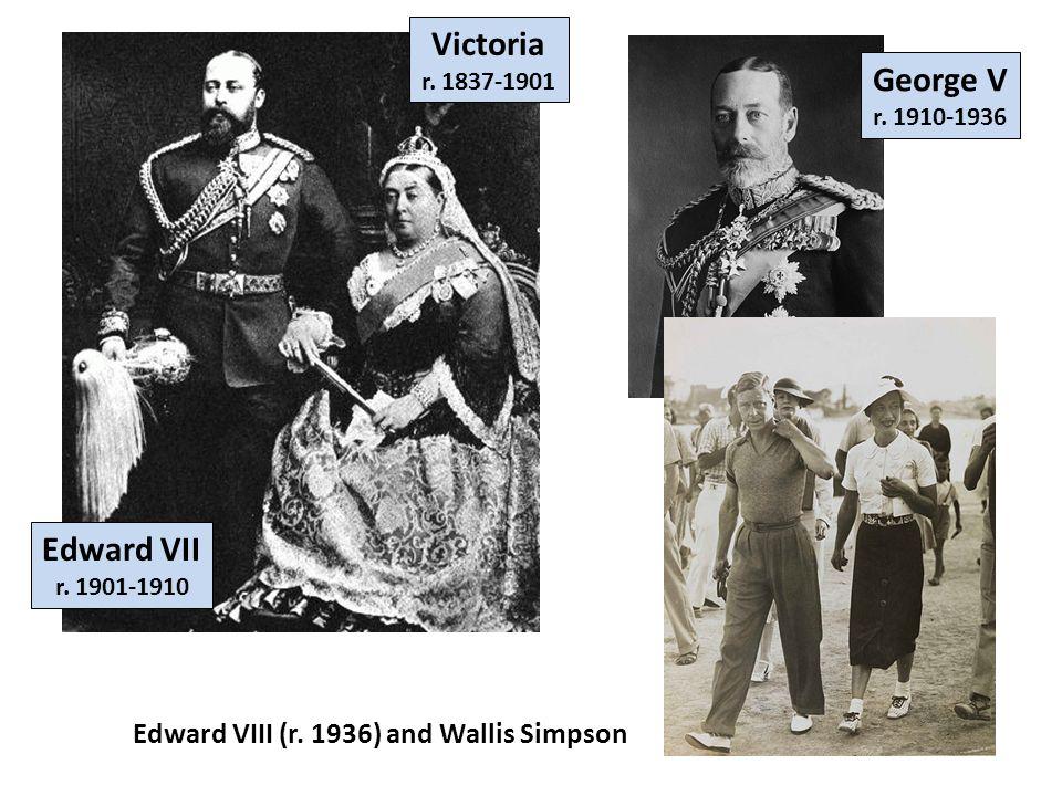 Victoria George V Edward VII