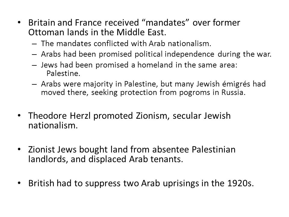 Theodore Herzl promoted Zionism, secular Jewish nationalism.