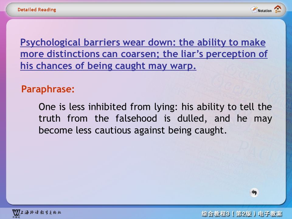 Detailed reading12- Psychological barriers