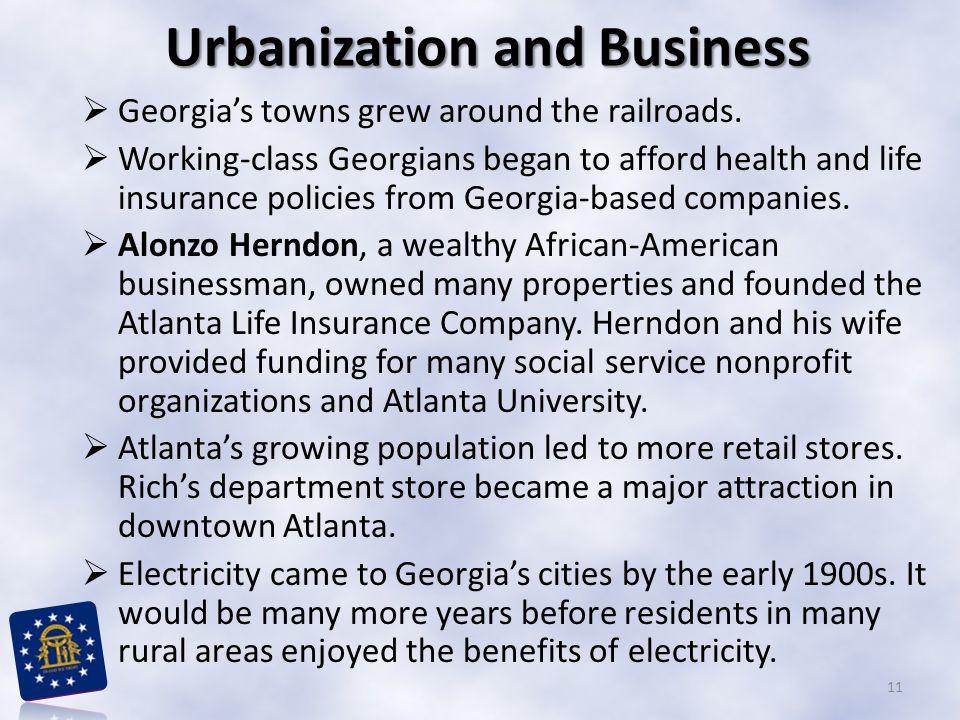 Urbanization and Business