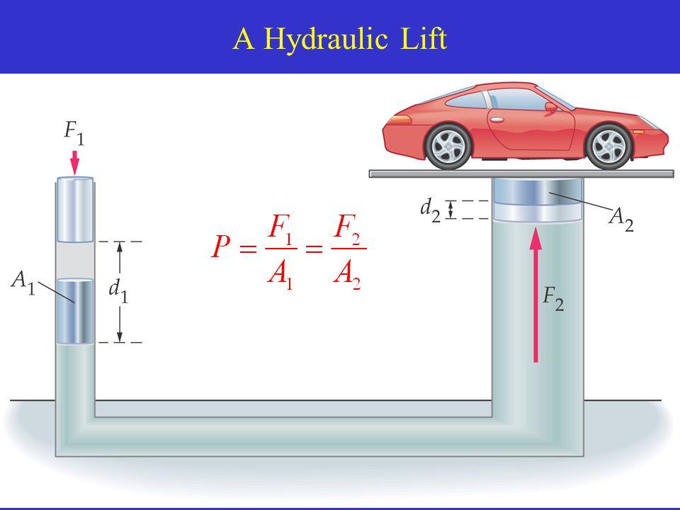 A Hydraulic Lift