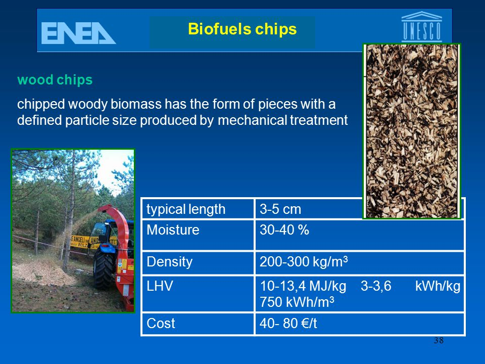 Biofuels chips wood chips
