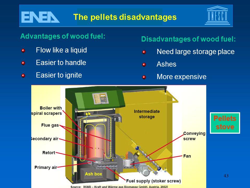 The pellets disadvantages