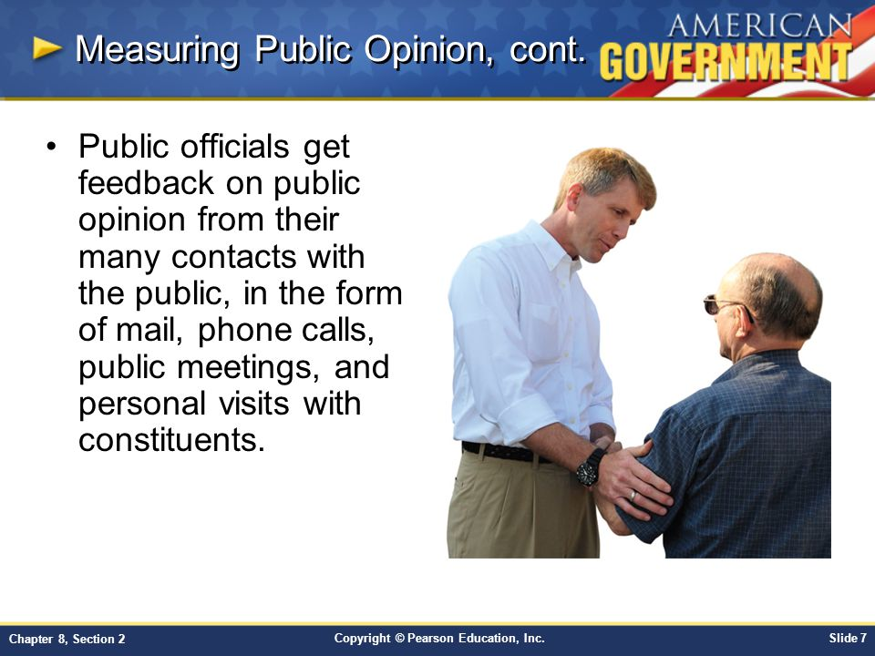 Measuring Public Opinion, cont.