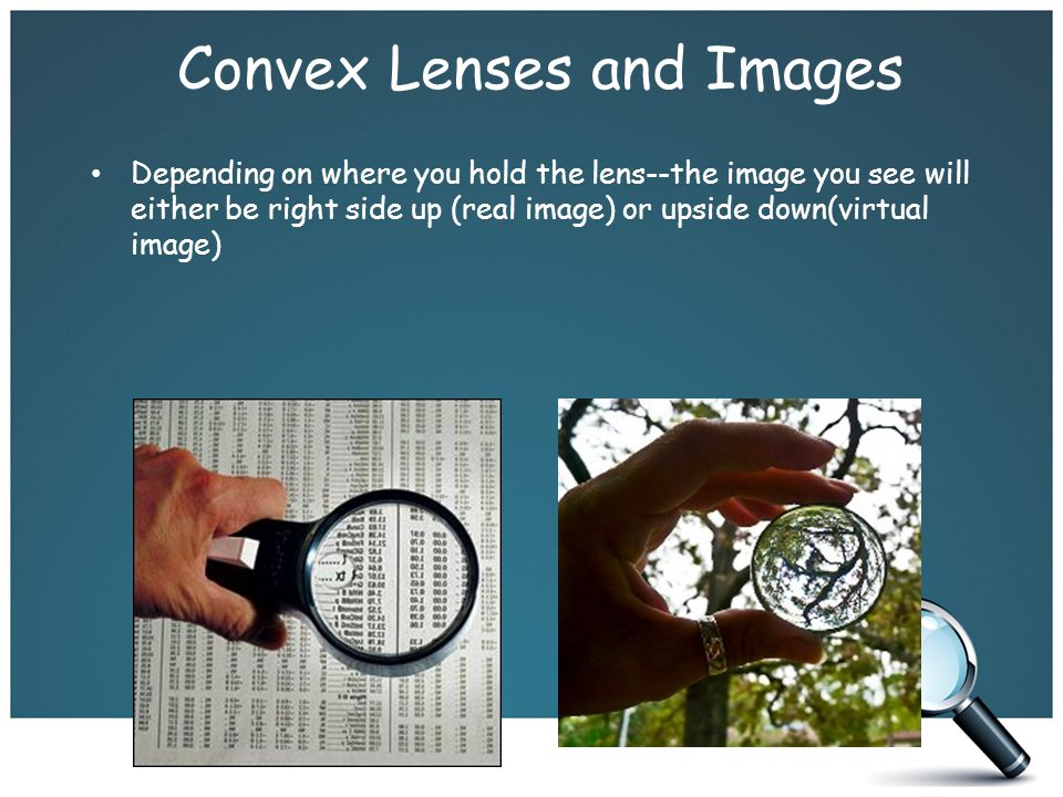 Convex Lenses and Images