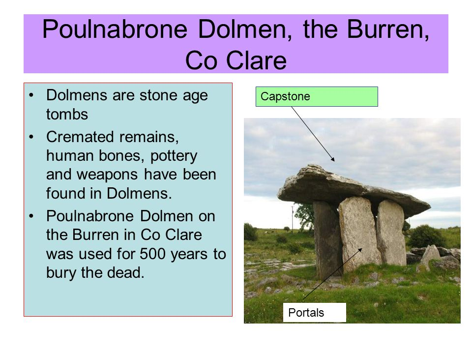 Poulnabrone Dolmen, the Burren, Co Clare