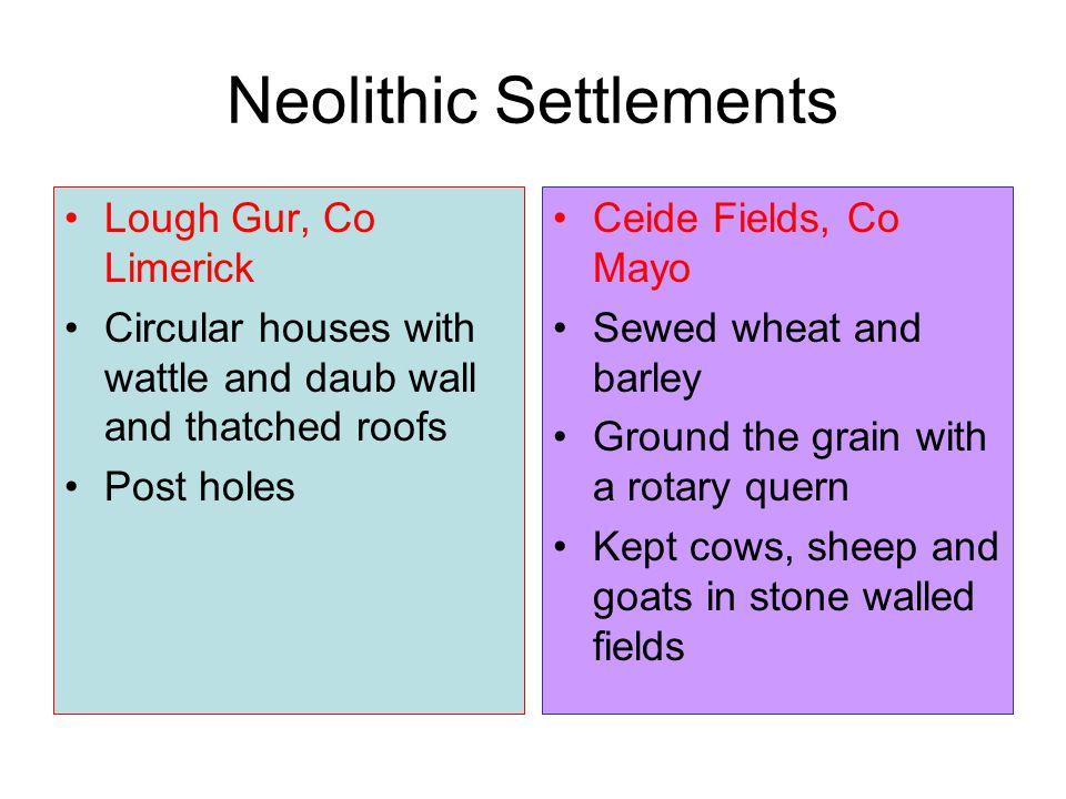 Neolithic Settlements