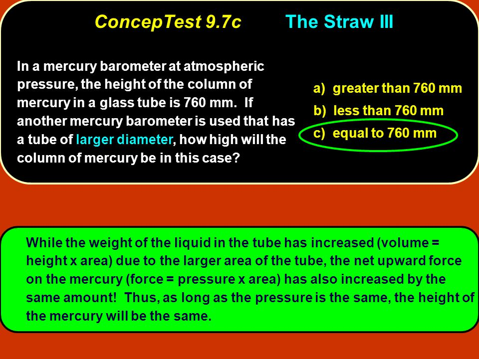 ConcepTest 9.7c The Straw III