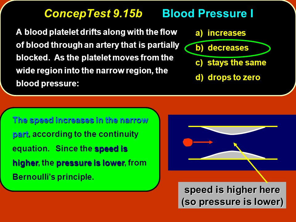 ConcepTest 9.15b Blood Pressure I