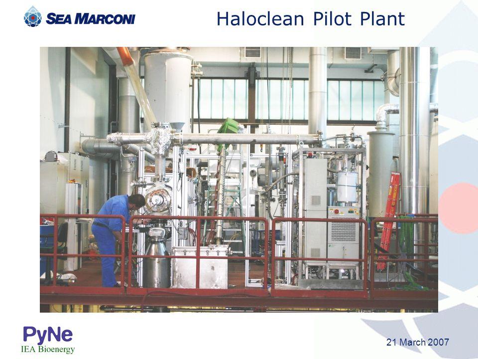 Haloclean Pilot Plant 21 March 2007