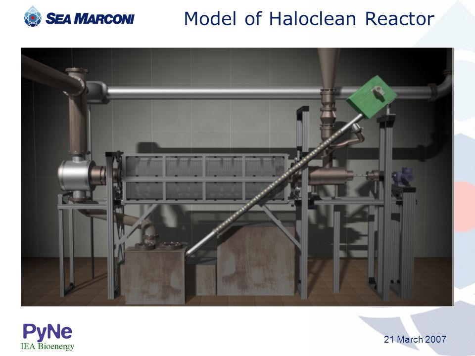 Model of Haloclean Reactor