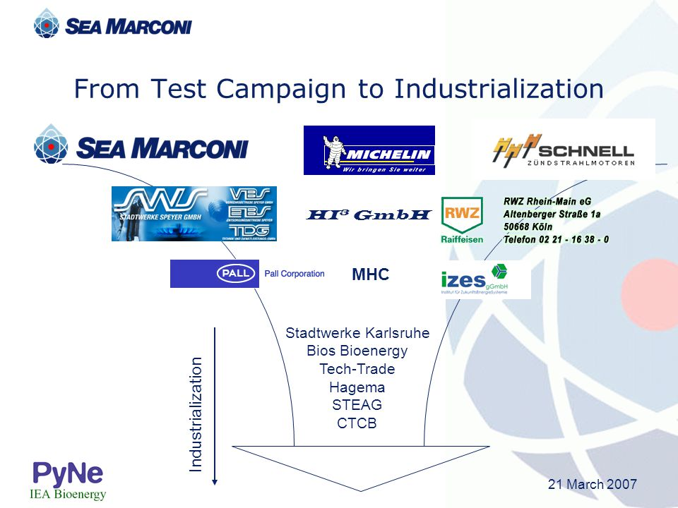 From Test Campaign to Industrialization