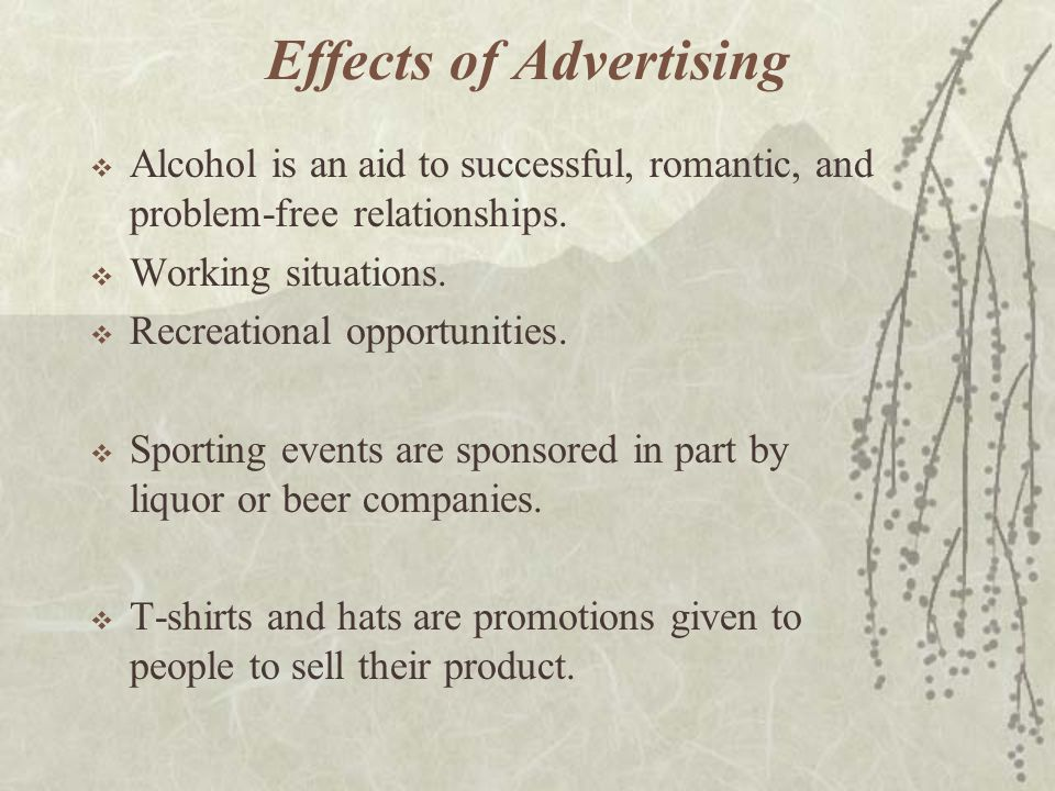 Effects of Advertising