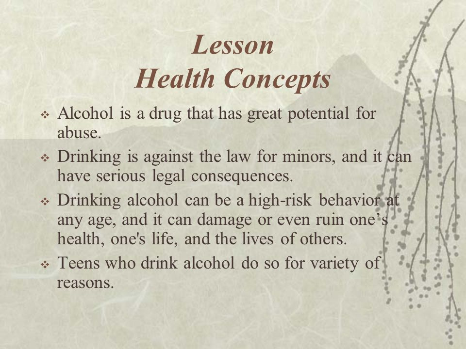Lesson Health Concepts