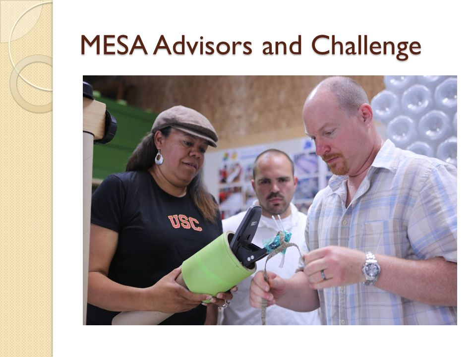 MESA Advisors and Challenge