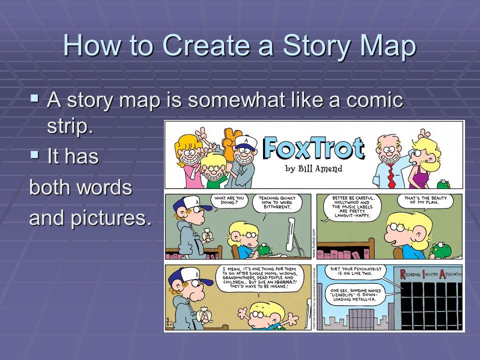 How to Create a Story Map