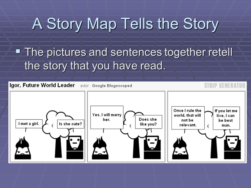 A Story Map Tells the Story