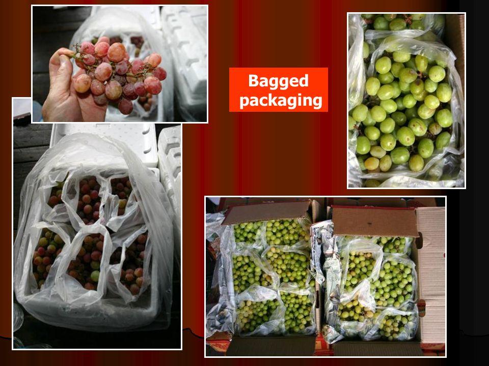 Bagged packaging
