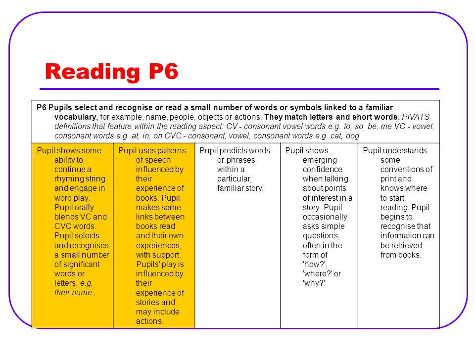 Reading P6
