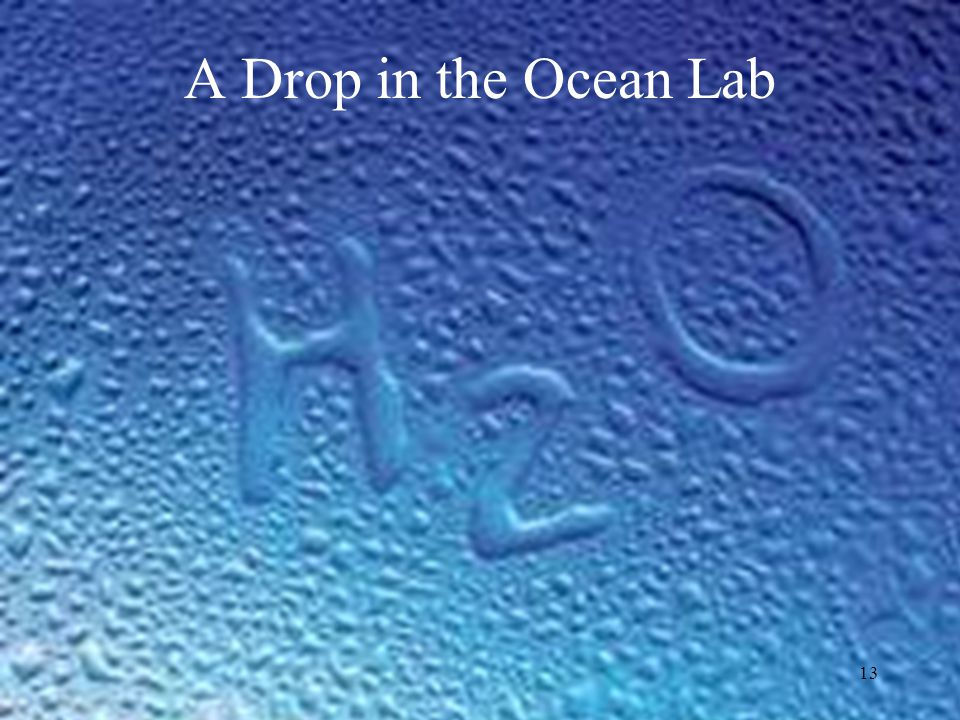 A Drop in the Ocean Lab 1:57- 2:10