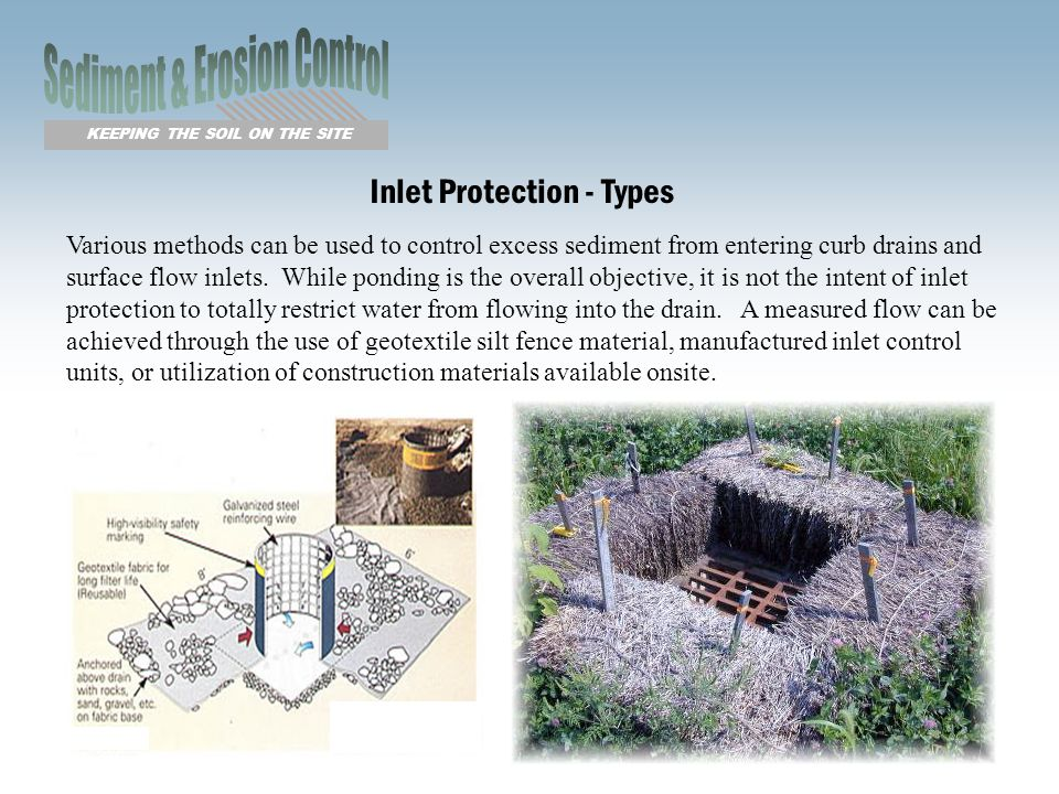 erosion control methods