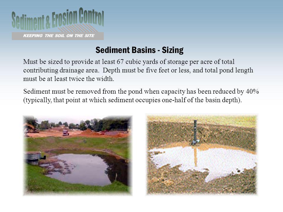Sediment & Erosion Control