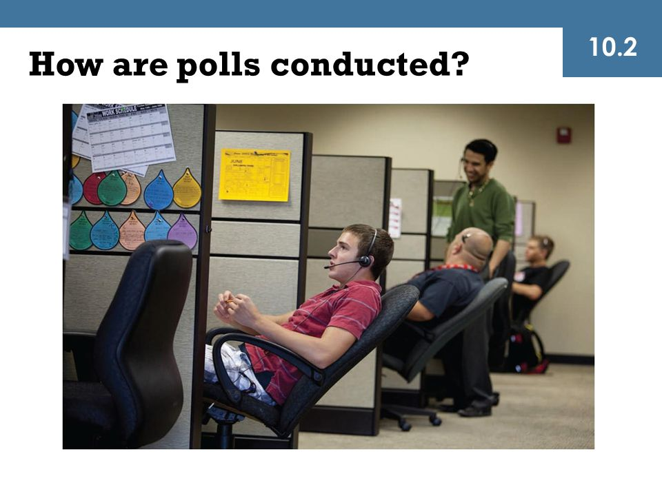How are polls conducted