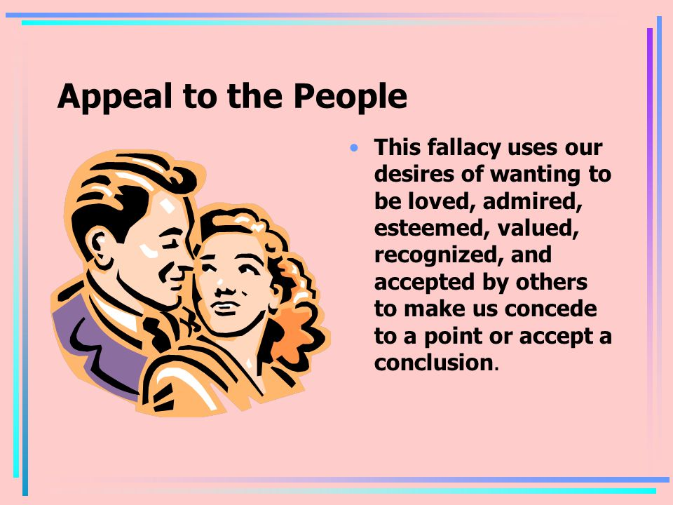 Appeal to the People