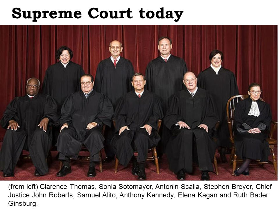 Supreme Court today