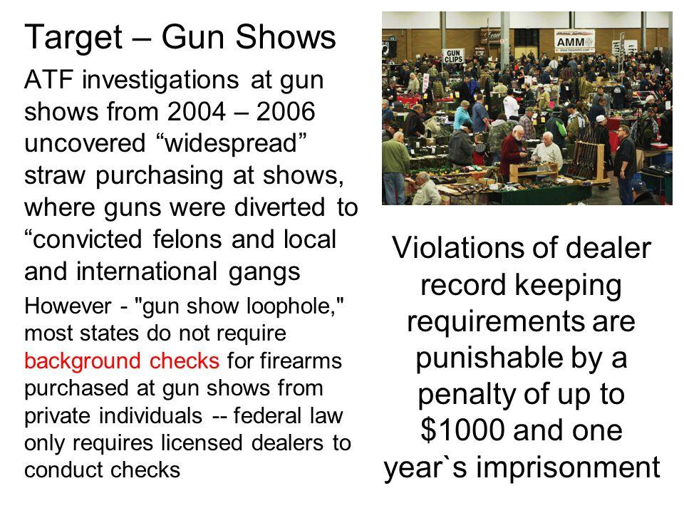 Target – Gun Shows