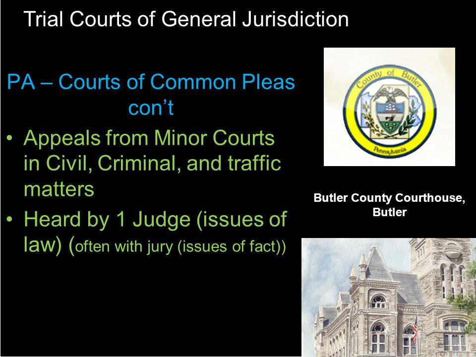 Butler County Courthouse, Butler