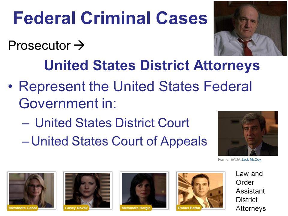 Federal Criminal Cases