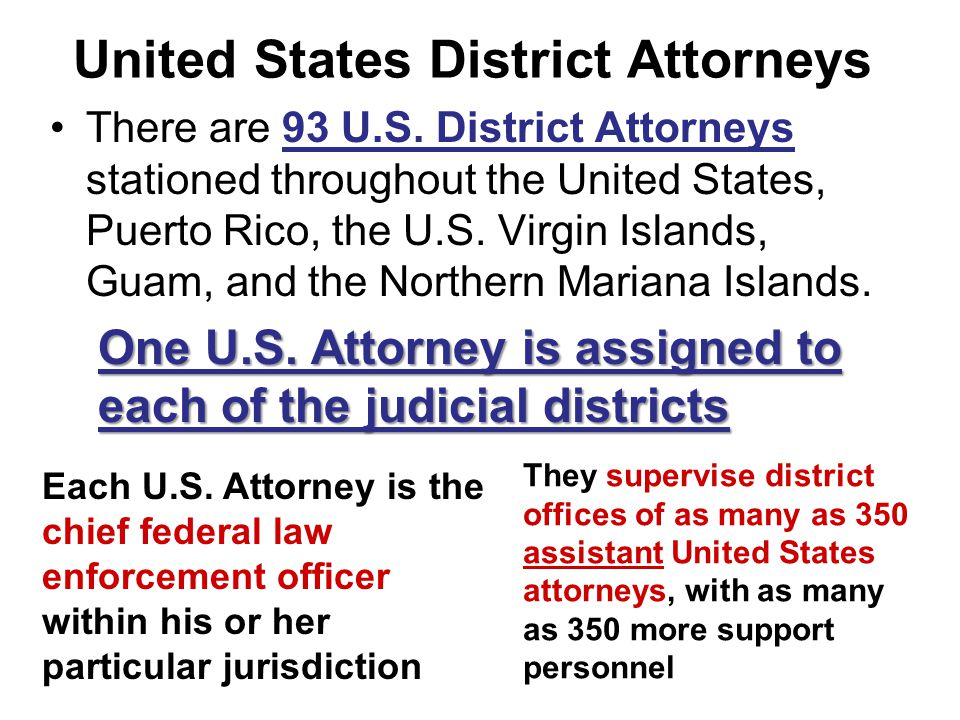 United States District Attorneys