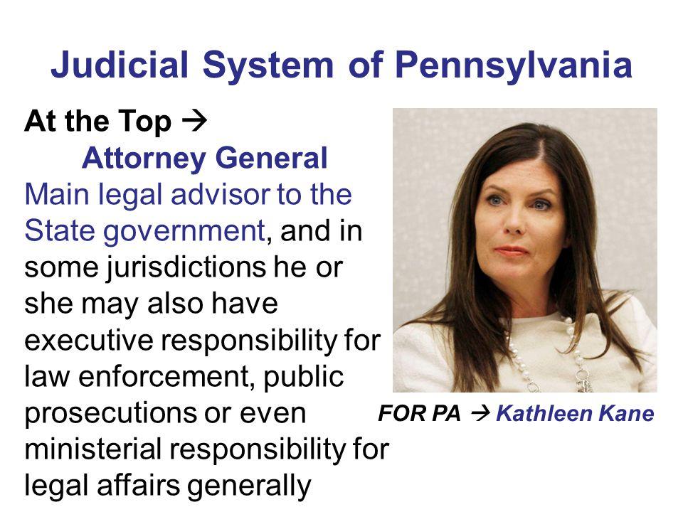 Judicial System of Pennsylvania