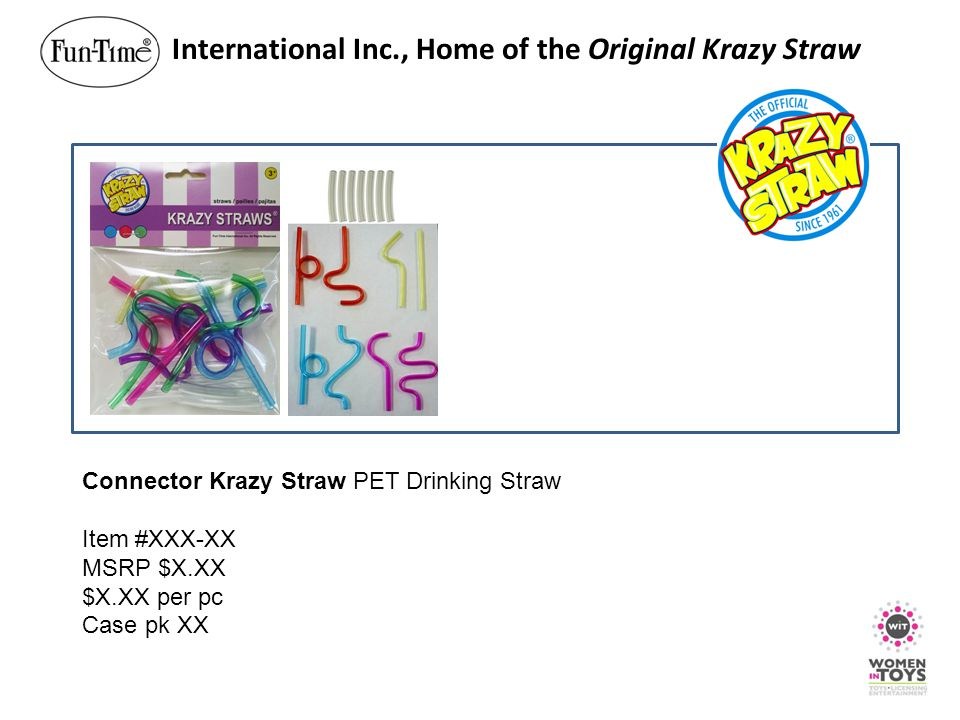 International Inc., Home of the Original Krazy Straw