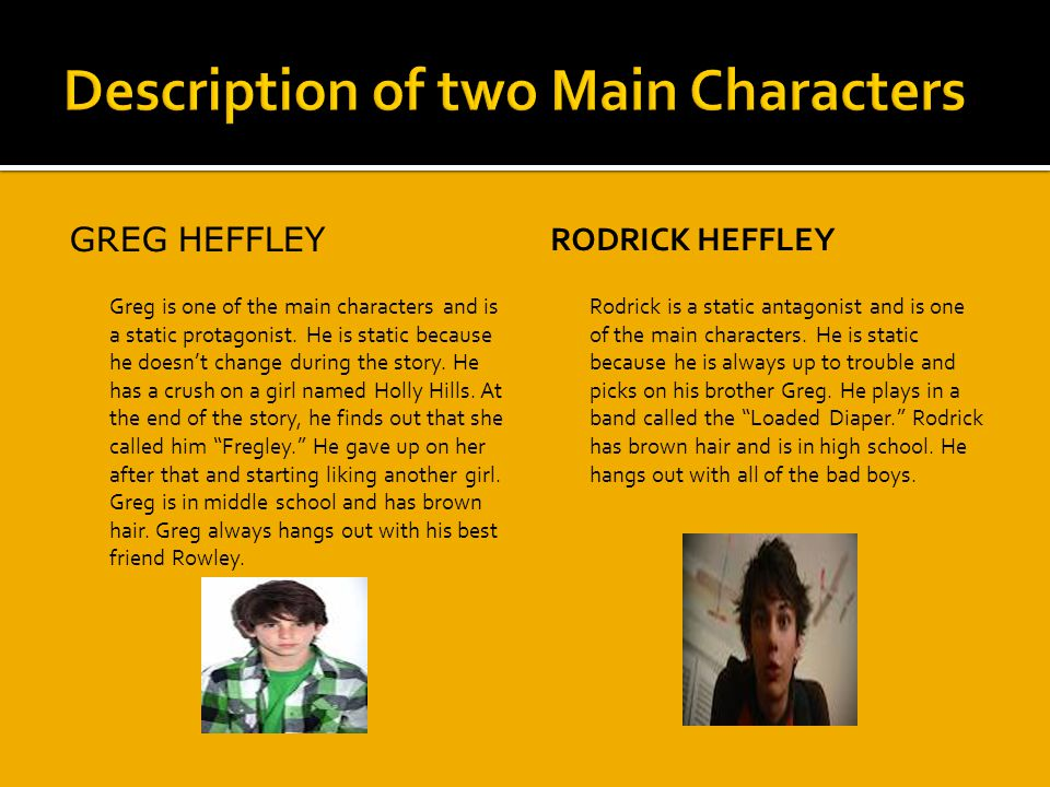 Description of two Main Characters