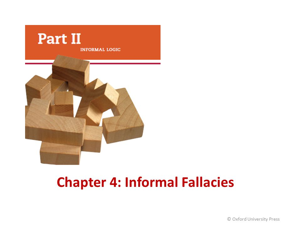 Chapter 4: Informal Fallacies