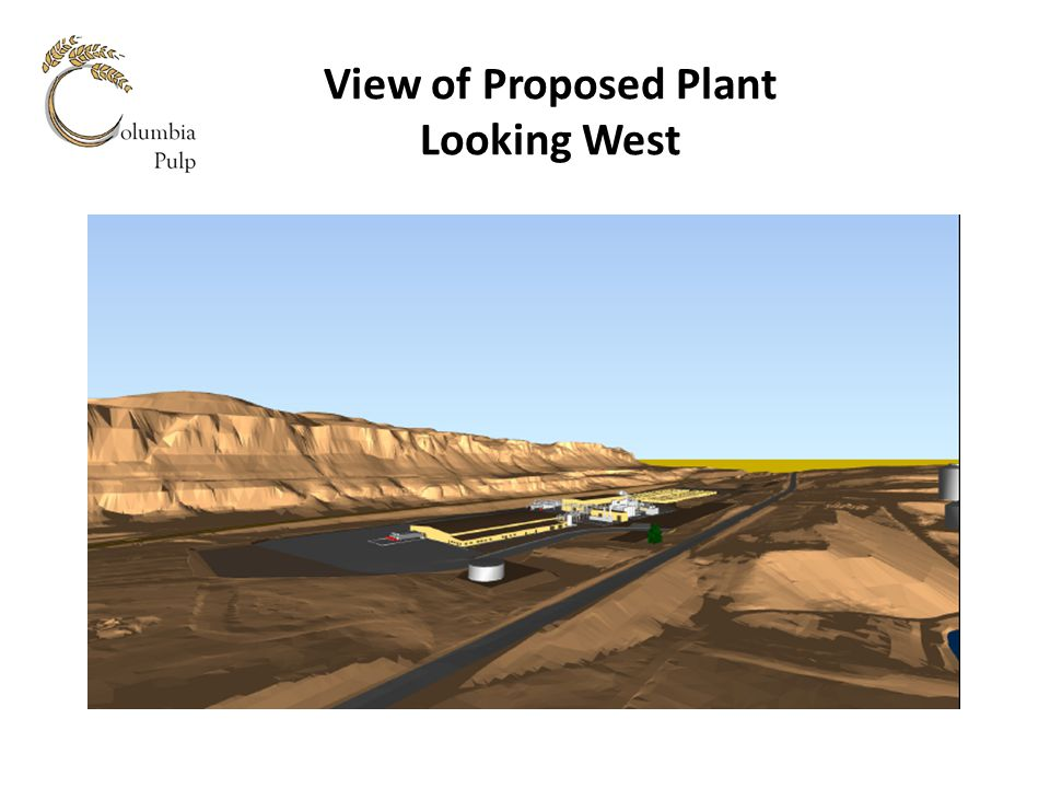 View of Proposed Plant Looking West