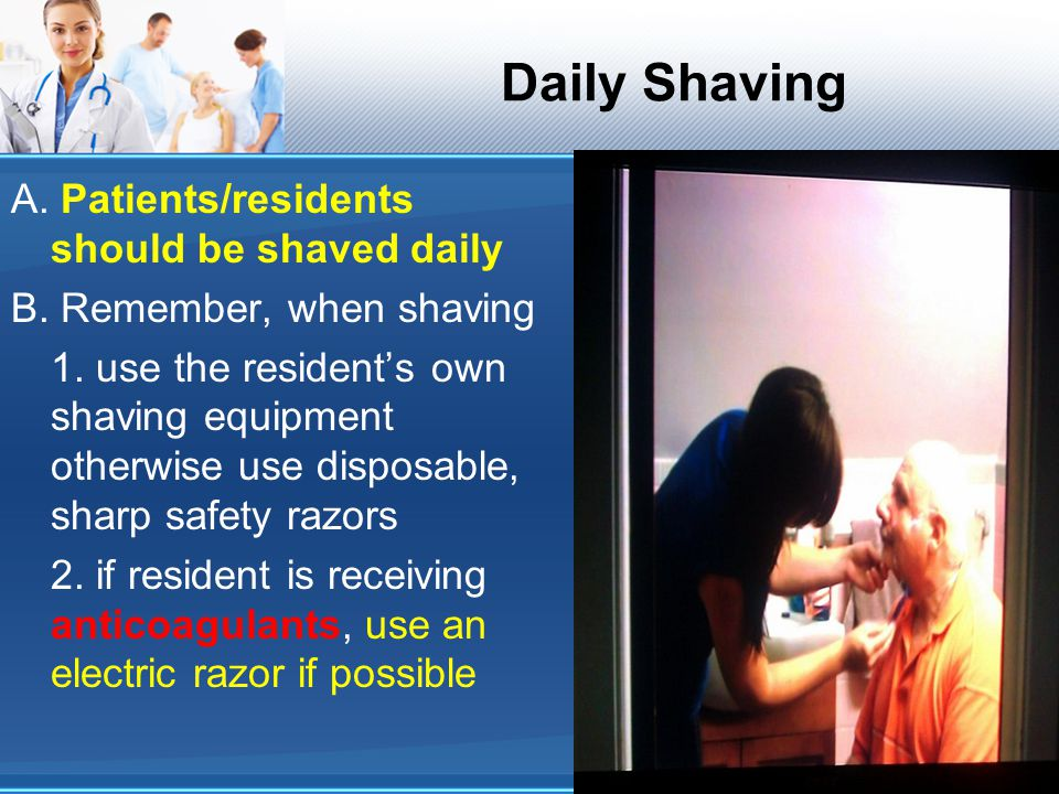 Daily Shaving