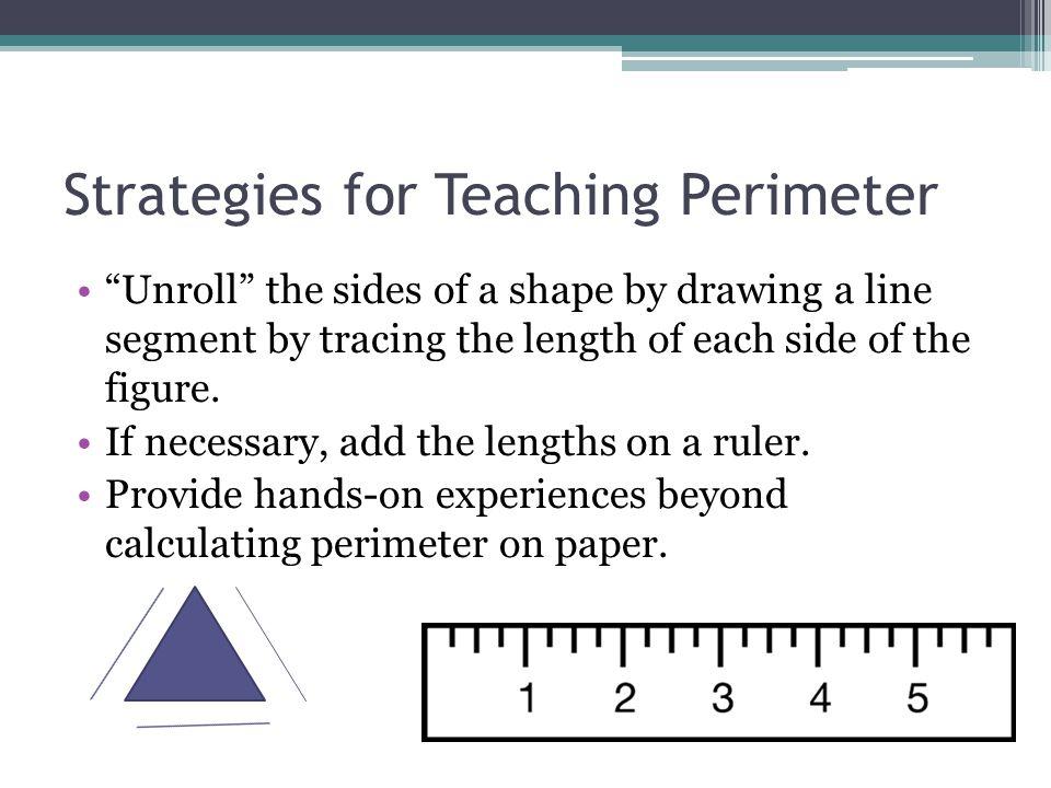 Strategies for Teaching Perimeter