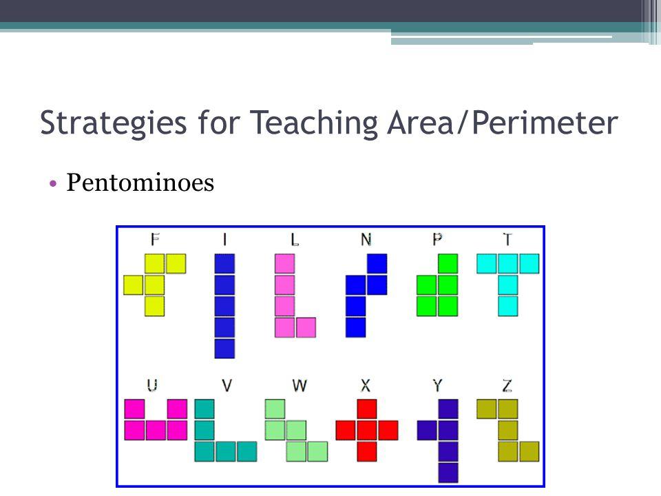 Strategies for Teaching Area/Perimeter