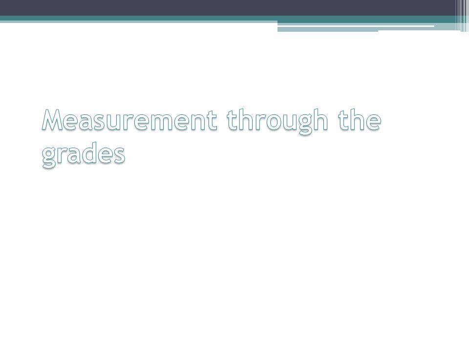 Measurement through the grades