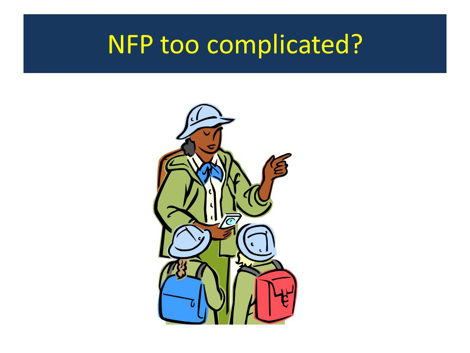 NFP too complicated