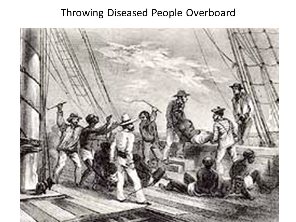 Throwing Diseased People Overboard