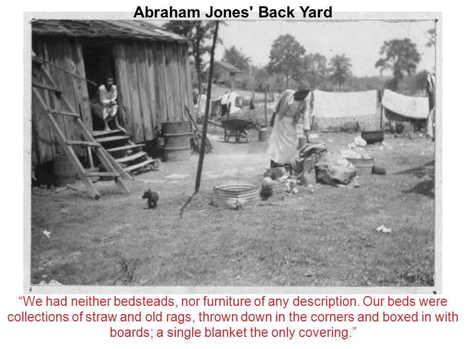Abraham Jones Back Yard