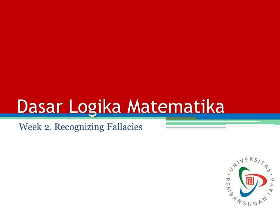 Dasar Logika Matematika - ppt video online download