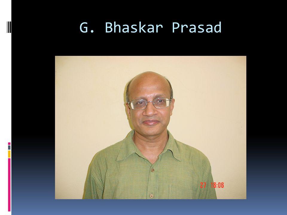 G. Bhaskar Prasad