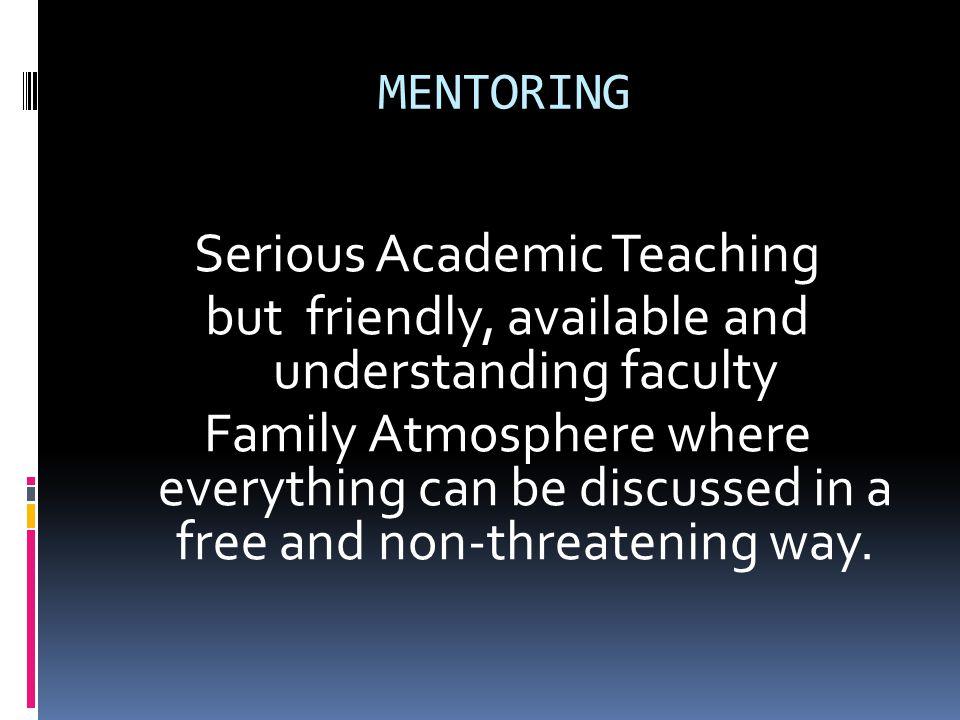 Serious Academic Teaching